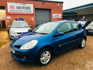 2008 Renault Clio 1.2 16v 75 a/c Expression Blue 3dr Hatch *ANY PX WELCOME