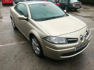 2008 Renault Megane 1.6 VVT Dynamique CONVERTIBLE FULL SERVICE HISTORY