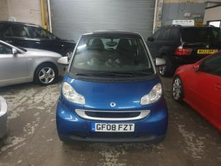 2008 Smart Fortwo 1.0 Passion 84 Automatic, Service History, £30 Road Tax