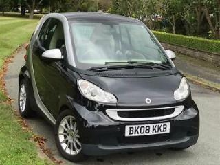 2008 Smart fortwo 1.0 Passion Coupe 2dr Petrol Automatic 116 g/km, 84 bhp