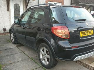 2008 Suzuki Sx4 1.6 DDIS diesel, 5dr, economical over 50mpg