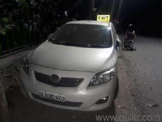 White 2008 Toyota Corolla Altis 74,000 kms driven in Saket
