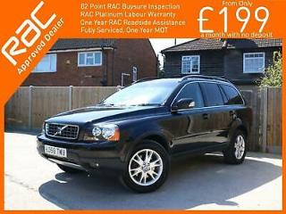 2008 Volvo XC90 2.4 D5 SE Turbo Diesel Geartronic Auto AWD 4x4 4WD 7 Seater Sat