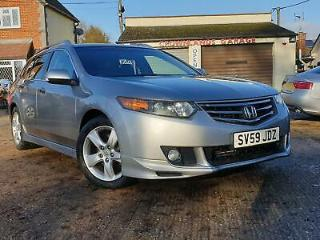 2009/59 Honda Accord 2.0 i VTEC ES GT Tourer, Just 62k, FSH, DVD Screens!