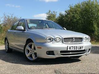 2009/59 Jaguar X TYPE 2.2D DPF SE, Just 51k, Full Jaguar History, Leather, Nav!