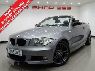 2009 09 BMW 1 SERIES 2.0 120D 175 BHP M SPORT CONVERTIBLE