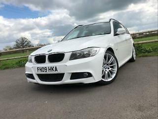 2009 09 BMW 3 SERIES 320d 177 M SPORT TOURING 5DR *HEATED LEATHER, BLUETOOTH