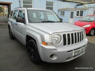 2009 09 JEEP PATRIOT 2.0 SPORT CRD 5DR