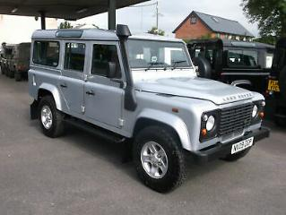 2009 09 Land Rover 110 Defender 2.4TDCi County Station Wagon