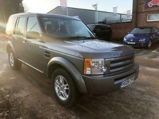 2009 09 LAND ROVER DISCOVERY 2.7 3 TDV6 GS 5D 188 BHP DIESEL
