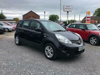 2009 09 Nissan Note 1.4 Acenta 5 Door Hatchback Manual Petrol In Black