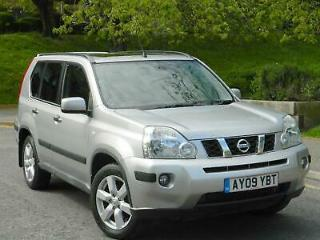 2009 09 NISSAN X TRAIL 2.0 DCI 148 AUTO AVENTURA FULL LEATHER+ HIGH SPEC!