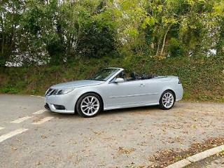 2009 09 SAAB 9 3 1.9 TTID AERO CONVERTIBLE 1 OWNER FROM NEW ONLY 69000 MILES