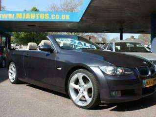 2009 58 BMW 3 SERIES 2.0 320I SE 2DR 168 BHP CONVERTIBLE