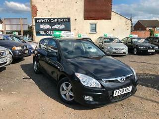 2009 58 HYUNDAI i30 1.4 COMFORT 5 DOOR HATCHBACK FSH PART X WARRANTY