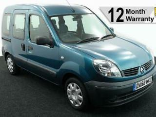 2009 58 RENAULT KANGOO 1.6 AUTHENTIQUE AUTO WHEELCHAIR ACCESSIBLE VEHICLE