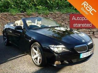 2009 59 BMW 6 SERIES 650I SPORT CONVERTIBLE