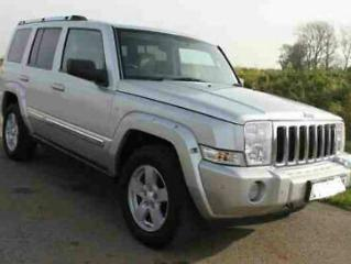2009 59 JEEP COMMANDER LIMITED 3.0 AUTO 7 SEATER 4X4 FULLY LOADED STUNNING!