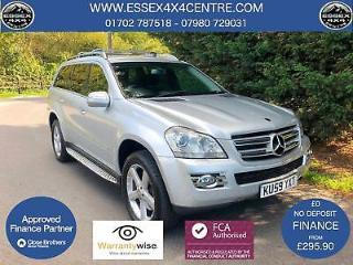 2009 59 MERCEDES GL320 3.0 CDI 4 MATIC AUTOMATIC 4X4 7 SEATER TUEBO DIESEL