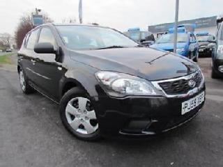 2009 59 PLATE Kia Ceed 1 1.4 5dr in Black