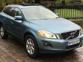 2009 59 Volvo XC60 SE Lux D5 AWD Geartronic 2.4TD Diesel Auto 205ps