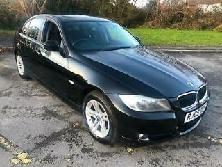 2009 BLACK BMW 318 2.0i Petrol ES 4 Door Saloon Manual Cheap German Looker