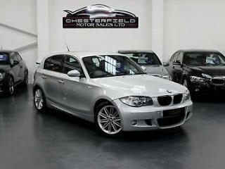 2009 BMW 118d M Sport in Silver, Full Service History, £30 Road Tax