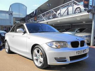 BMW 1 Series 2.0TD 118d SE Convertible 2009, 59000 miles, £5980
