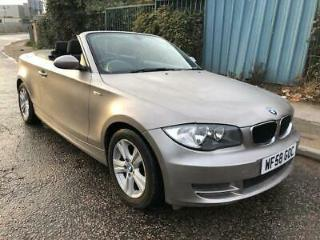 2009 BMW 1 SERIES CONVERTIBLE, SOFT TOP 118 MANUAL, VERY RARE GOLD MAT FINISH