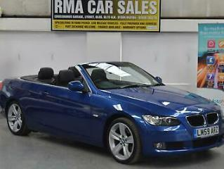 BMW 3 Series 320d SE Highline 2dr Step Automatic CONVERTIBLE Turbo Diesel