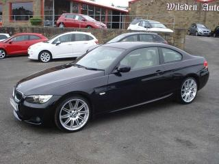 BMW 3 Series 3.0TD Auto M Sport Highline Coupe Coupe 2009, 58000 miles, £7999