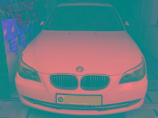 White 2009 BMW 5 Series 525i 60000 kms driven in Mehdipatnam