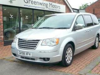 2009 CHRYSLER GRAND VOYAGER 2.8 CRD LIMITED AUTO MPV SAT NAV DVD LEATHER 7 SEAT