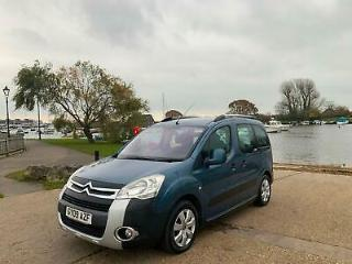 2009 Citroen Berlingo 1.6TD Multi Space XTR 5 Door MPV Blue