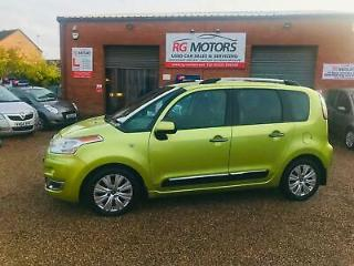 2009 Citroen C3 Picasso 1.6 HDi 92bhp Exclusive Green 5dr MPV