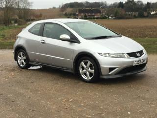 2009 Honda Civic 1.4i VTEC Type S 3 Door 120,000 Miles FSH