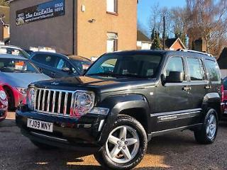 2009 Jeep Cherokee 2.8 CRD Limited 5dr Auto ESTATE Diesel Automatic