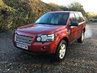 2009 Land Rover Freelander 2 2.2Td4 4X4 Auto GS In Red