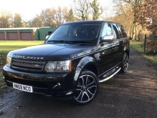 2009 LAND ROVER RANGE ROVER SPORT HSE 5.0 V8 SUPERCHARGED SUV 5 DOOR 503 BHP