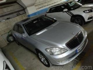 Silver 2009 Mercedes Benz S Class S 350 CDI 42000 kms driven in 2Nd Main Road