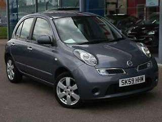 2009 NISSAN MICRA 1.4 Acenta 5dr Auto 16 ALLOYS, B TOOTH and AIR CON