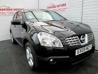 2009 Nissan Qashqai 1.5 dCi Acenta 5dr, Bluetooth 2 owners, Rear Parking full se