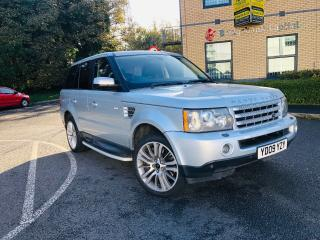 2009 RANGE ROVER SPORT SILVER TDV8 NOW BEEN SOLD SOLD CHECK OUT MY OTHER ITEMS!