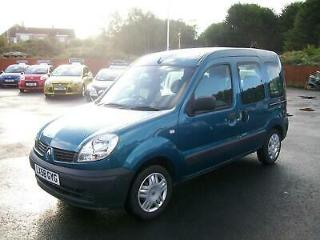 2009 Renault Kangoo 1.2 Authentique 5dr [Euro 4] GOWRINGS MOBILITY 4 SEAT TIMING