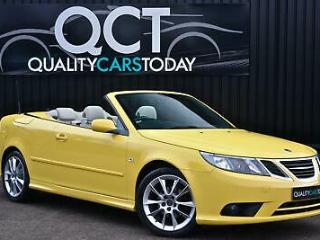 2009 Saab 9 3 1.8 T Vector Sport Convertible Lynx Yellow + Business Pack