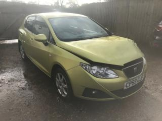 2009 SEAT IBIZA ECOMOTIVE TDI SALVAGE DAMAGED REPAIRABLE DRIVEAWAY