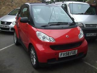 2009 Smart fortwo 1.0 71bhp Passion
