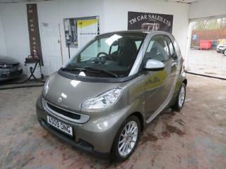 2009 Smart fortwo 1.0 Passion Coupe 2dr Petrol Automatic 103 g/km, 71 bhp