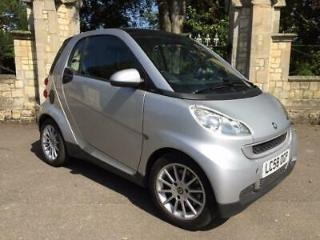 2009 Smart Fortwo Coupe Passion mhd 2dr Auto 2 door Coupe