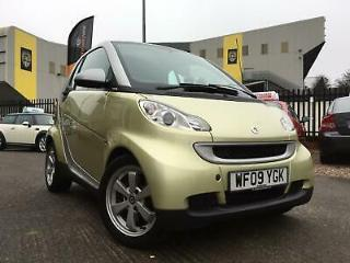 2009 Smart ForTwo Passion 1.0 MHD * £0 TAX * Unique Color * Glass Panoramic Roof
